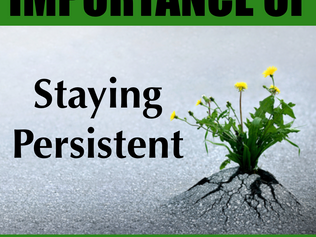 Staying Persistent