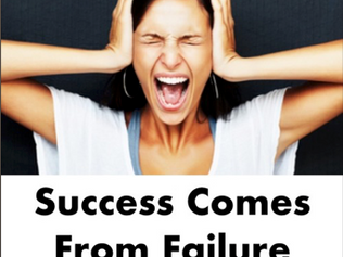Success Comes From Failure