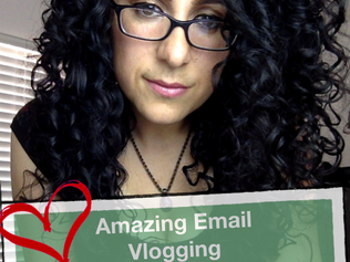 Amazing Email, Vlogging, A New Book