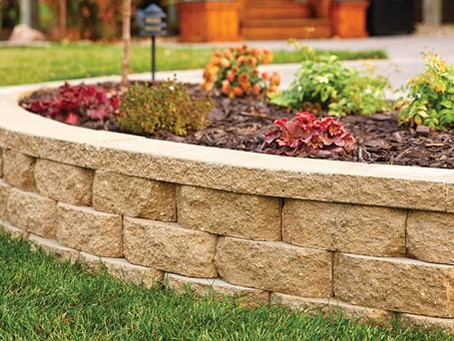 Frame your beds - Stone Edging