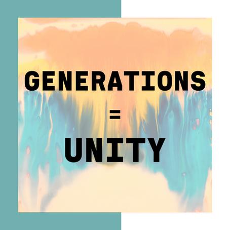 Generations = Unity