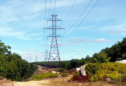 Lattice Electrc Power Line Structures