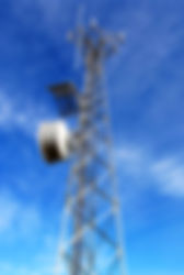 Self-Support Tower with Antennas and Microwave Dishes
