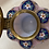 Thumbnail: Antique Wavecrest Lidded Jar