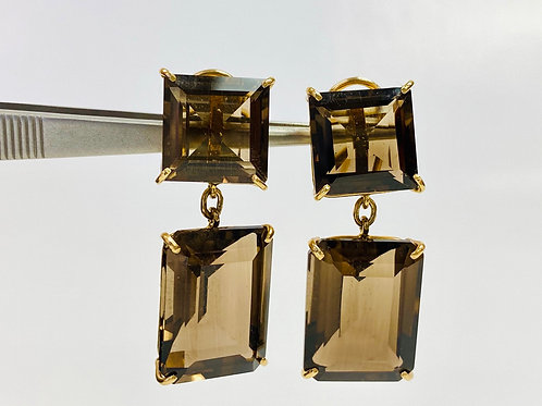 Showstopper Topaz Earrings