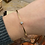 Thumbnail: Diamond and Gold Bangle