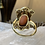 Thumbnail: Antique Coral Cameo Ring