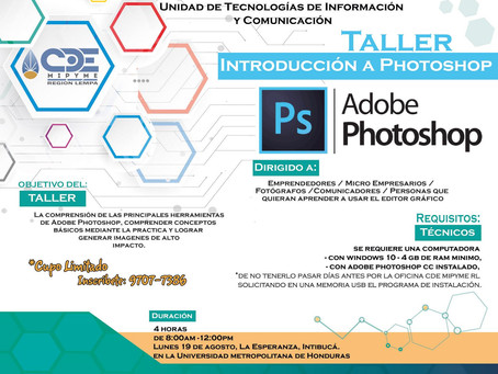 Talleres ADOBE PHOTOSHOP E ILLUSTRATOR
