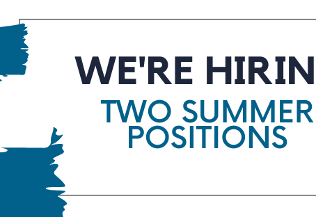We're Hiring: Two Summer Contract Positions