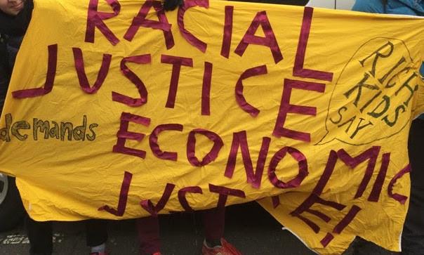 Rich kids say: racial justice demands economic justice!