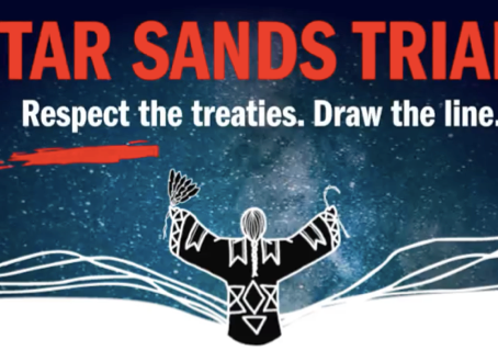 Investing in Our Future: Why I'm Fundraising for the Tar Sands Trial