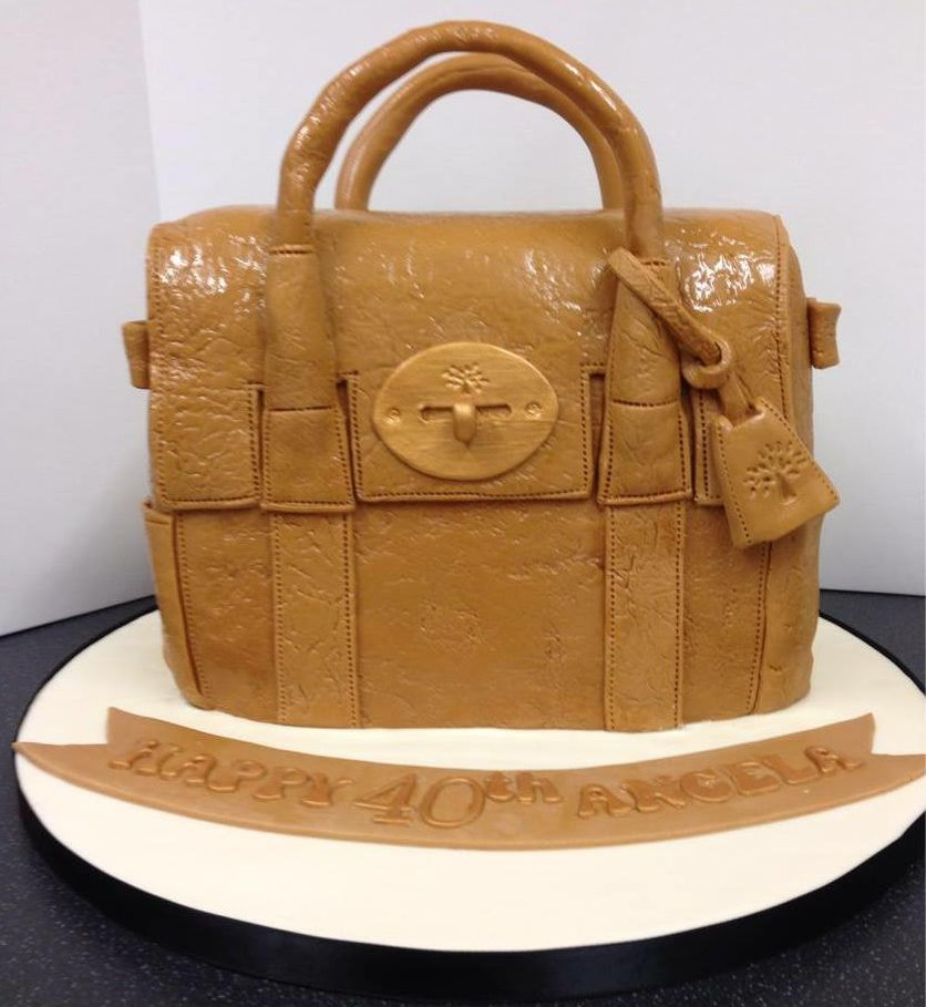 mulberry bag cake