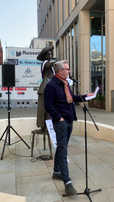 Tony Walsh inspires with his poetry recital