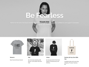 Be Braver Launches Clothing Range: All Proceeds  Supporting Women's Aid Manchester