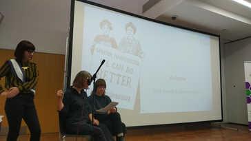 Gemma Nash addressed the conference