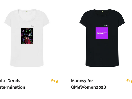 GM4Women2028 T-Shirts are now on-sale