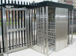 Type_491_Double_Turnstile_with_Pedestrian_Gate