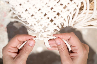 Macrame Handmade Knotting  TEX MB | Photo by Paxi Fotografia