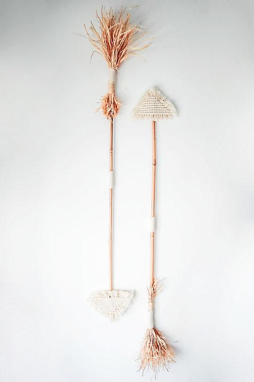 Macrame Arrow White
