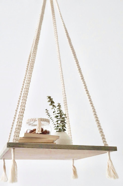 Macrame Suspended Table