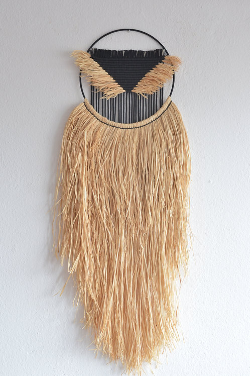 Macrame Wallhanging MP1903 Black