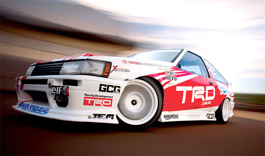 Beau's TRD AE86