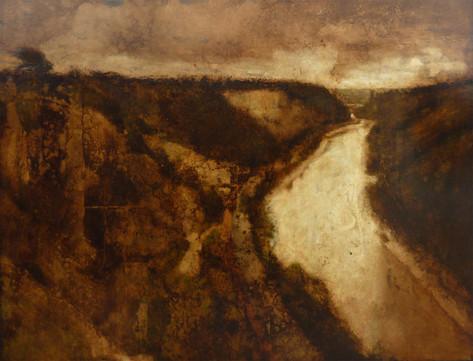 'The Gorge - passing rain'