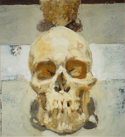 Skull in Front of a Mirror