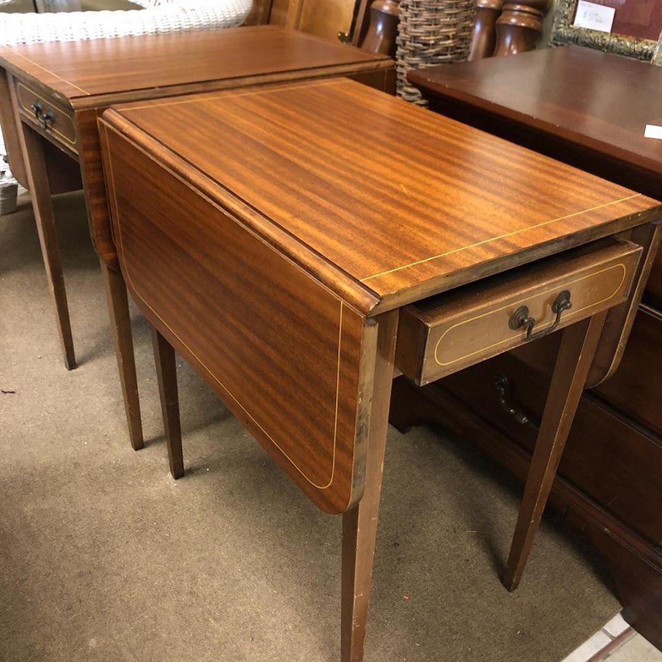 1947 Dropleaf End Tables