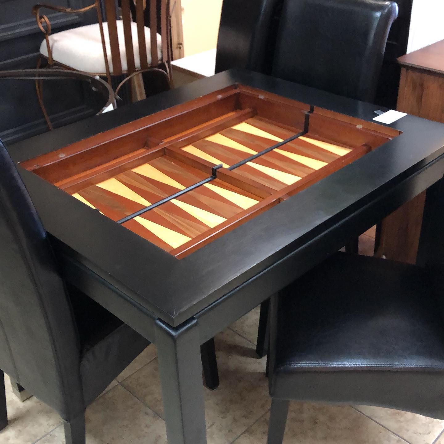 game table dinette - 4 chair