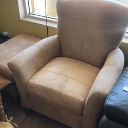 Flexsteel Chair and Ottoman