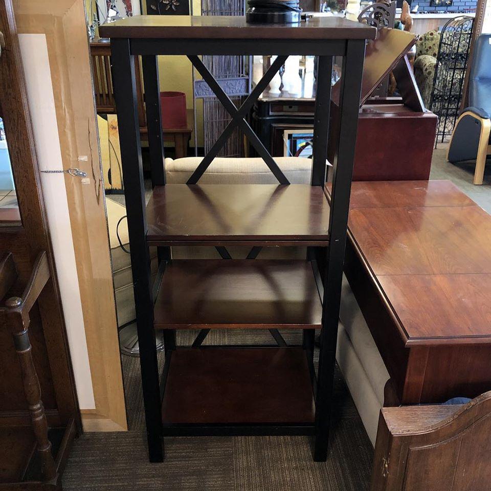 58x30 wood bookshelf