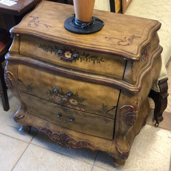 Bombay 3 drawer small chest