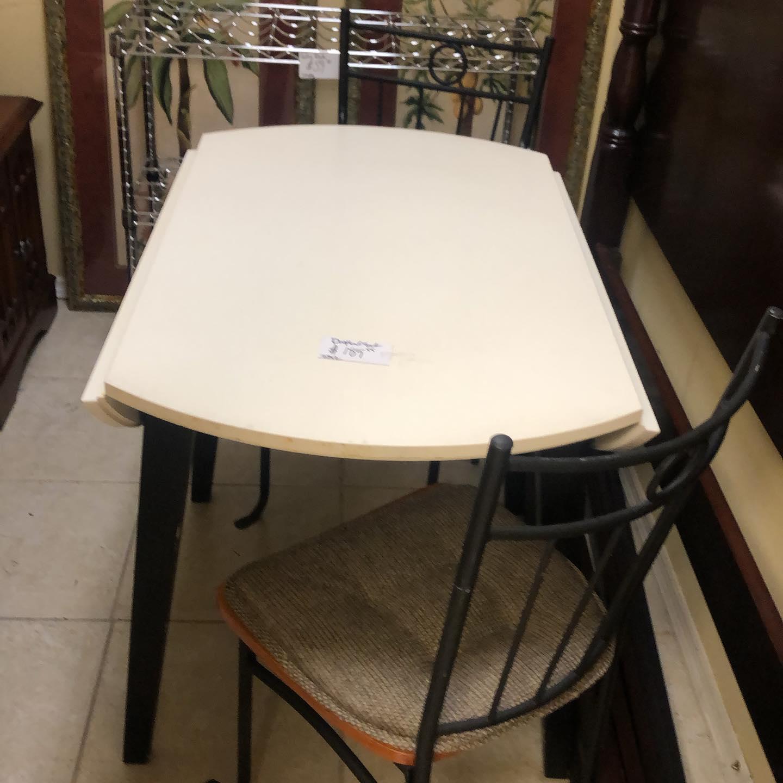 dropleaf table set