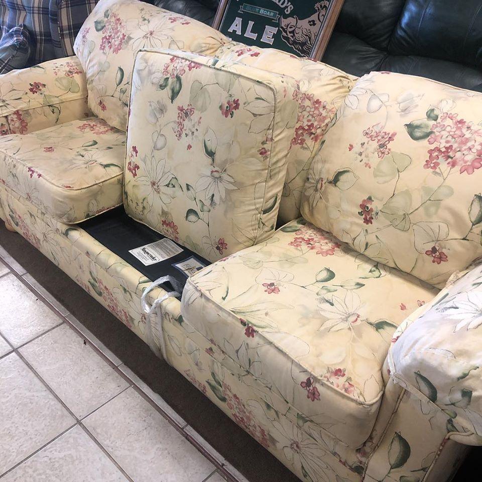 flexsteel sleeper queen sofa
