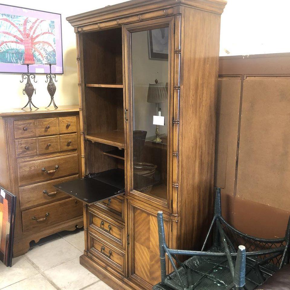 stanley bar cabinet