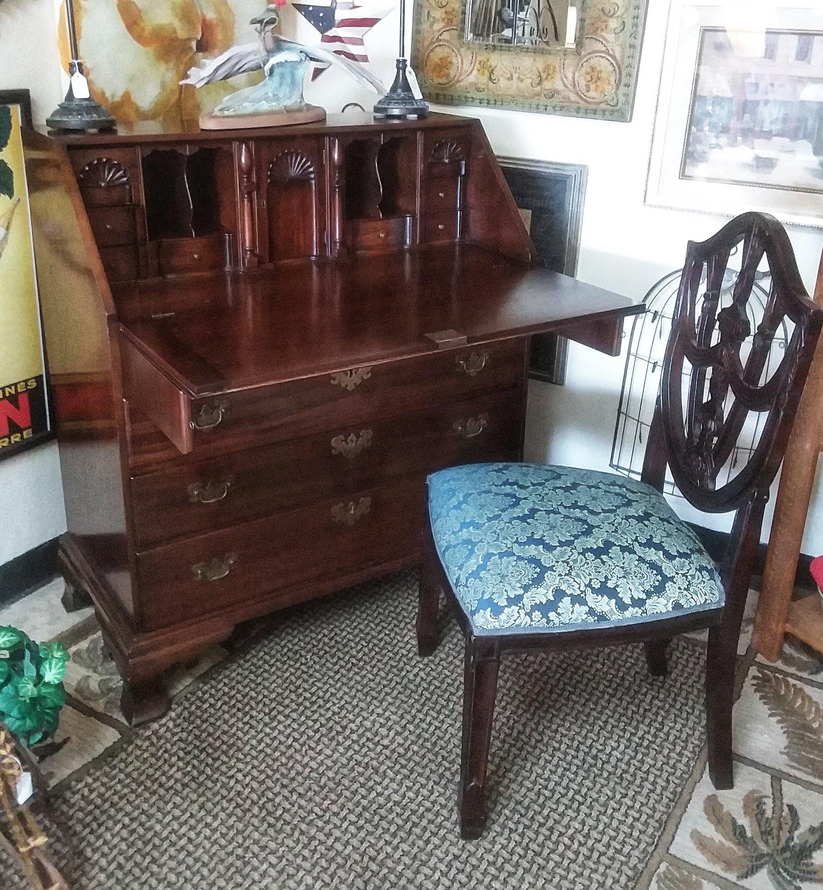 Secretary desk and chair