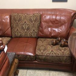 Havertys Sofa and Ottoman interchangeable