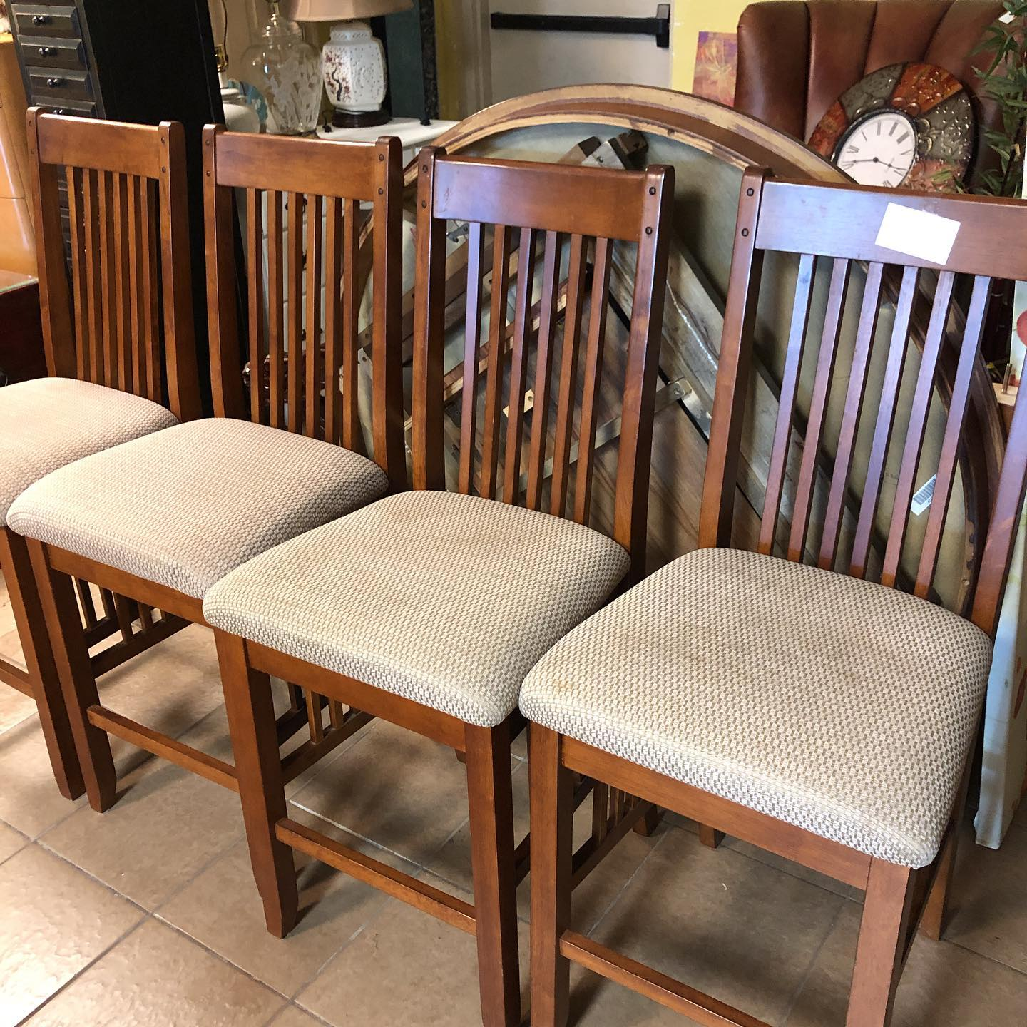 48 round counter height dining set with