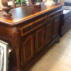 Inlaid grain large buffet