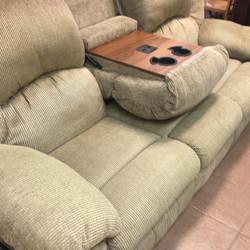 Upholstered massage sofa