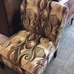 Pair Pier 1 Upholstered Chairs