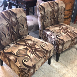 Pair Pier 1 chairs