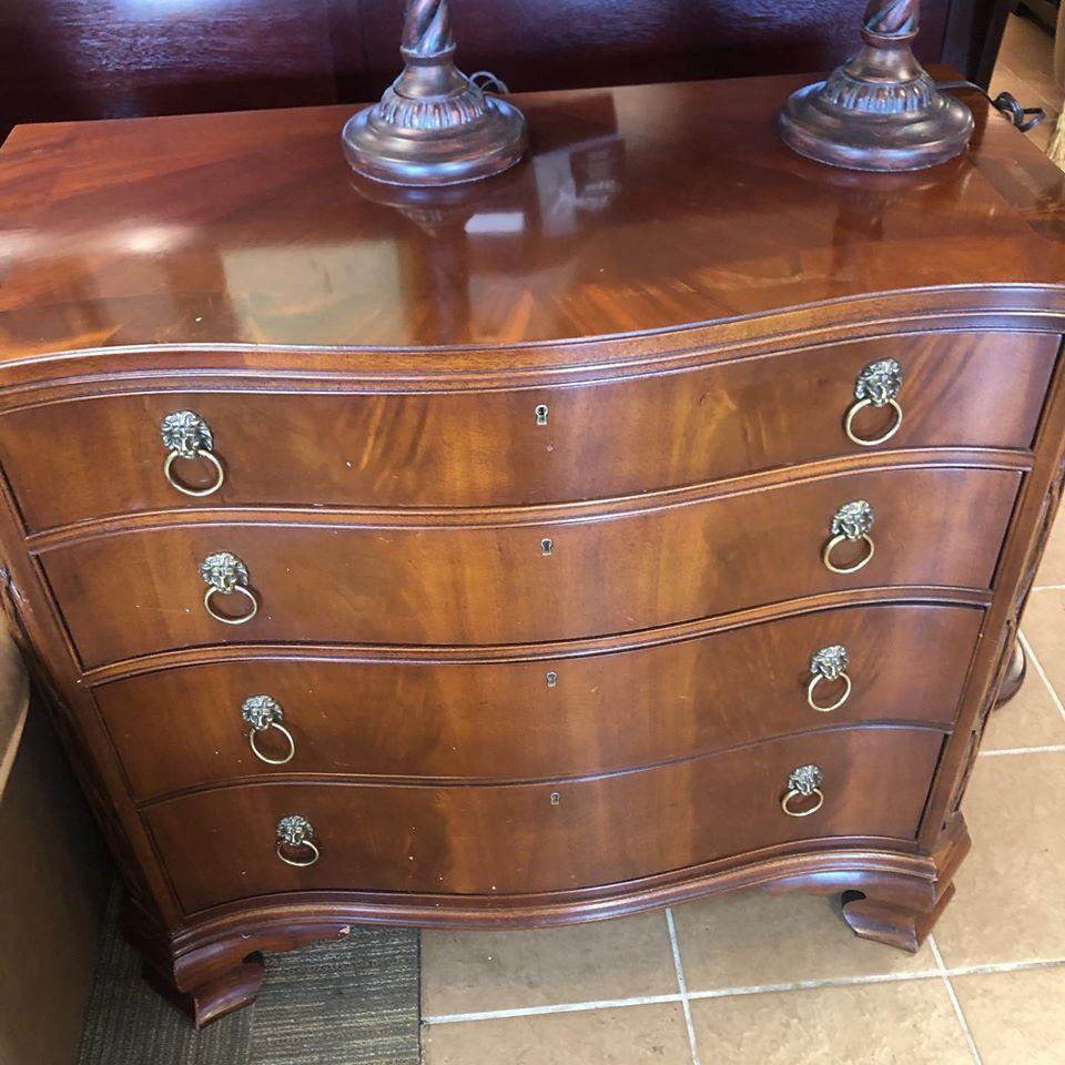 Antique 4 drawer chest