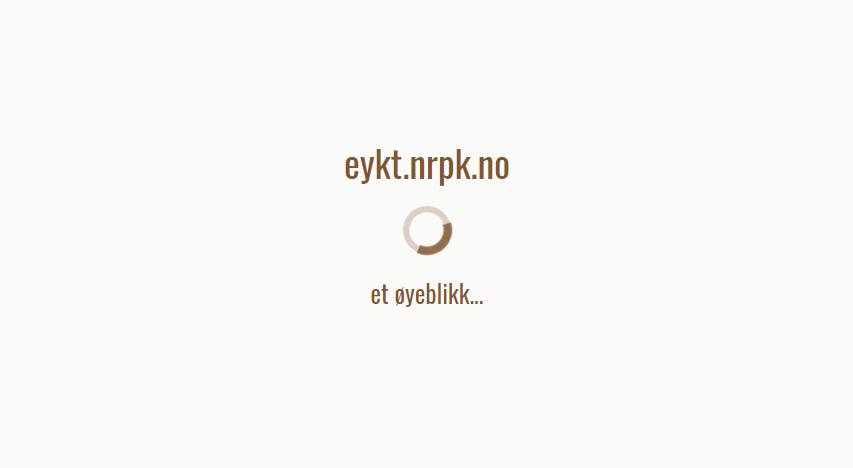 Facebook-innlogging på Eykt