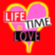 Magazine headers Life Time Love contemporary art painting by teddy m