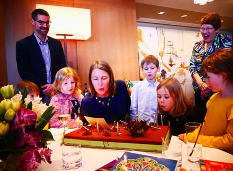 Karen's Surprise 40th Birthday Lunch