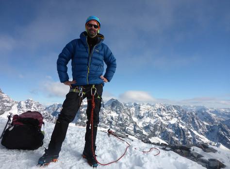 Climbing in Bolivia