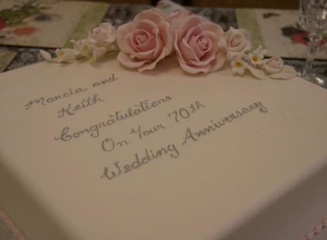 Nan and Pop's 70th Wedding Anniversary