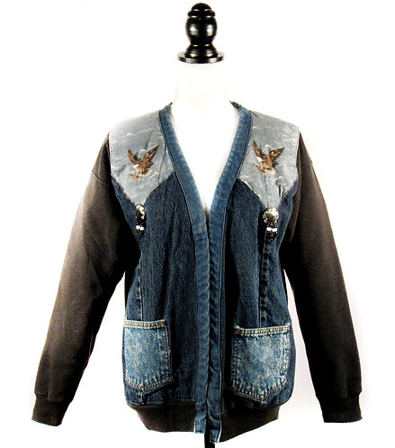 Vintage Eagle with Concho   Sweatshirt